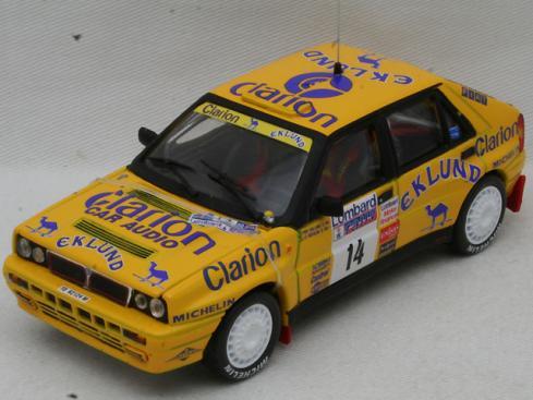 1/43 ランチア デルタ HF インテグラーレ 16V #14 Lombard RAC Rally 1990【デカール加工品】(VITESSE)1