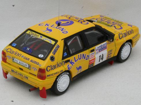 1/43 ランチア デルタ HF インテグラーレ 16V #14 Lombard RAC Rally 1990【デカール加工品】(VITESSE)2