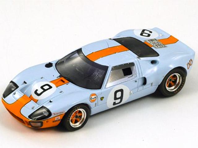 1/43 フォード GT40 No.9, Winner Le Mans 1968(Spark 43LM68)