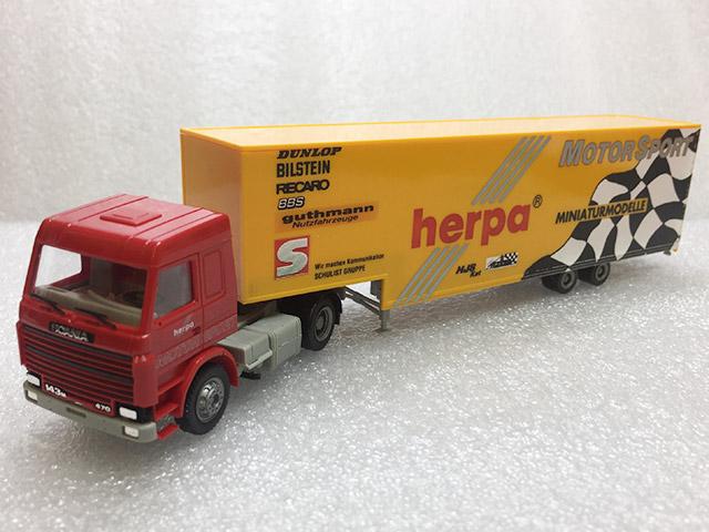 1/87 スカニア セミトレーラー [herpa MotorSport] (herpa)