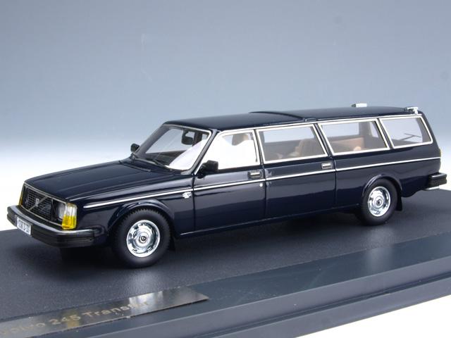 1/43 ボルボ 265 Transfer (Lwb) /1978/ブルー(MATRIX MX12106-051)