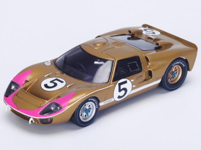 1/43 フォード GT40 Mk II No.5 3rd Le Mans 1966(Spark S4076)
